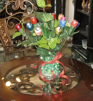 nail polish bouquet