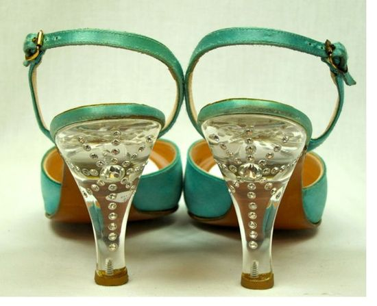 Vintage lucite heels