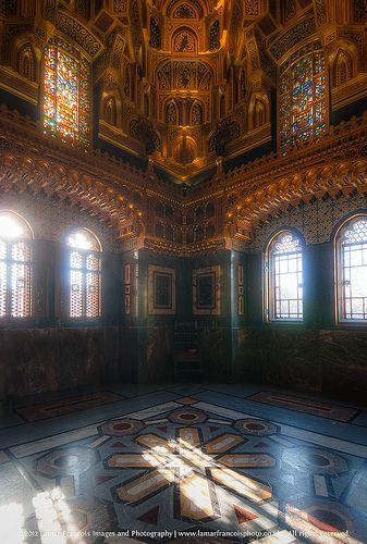 Cardiff Castle Interior