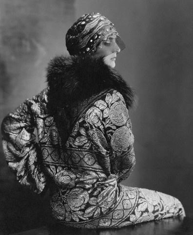 Vintage glamour chapeau de 1920.
