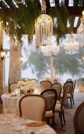 Glamorous wedding reception ideas