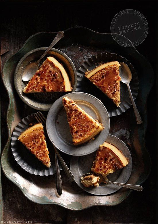 Pumpkin Brulee Cheesecake