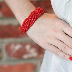 Tutorial — Braided Bead Bracelet