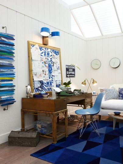 Working: The Blue Den