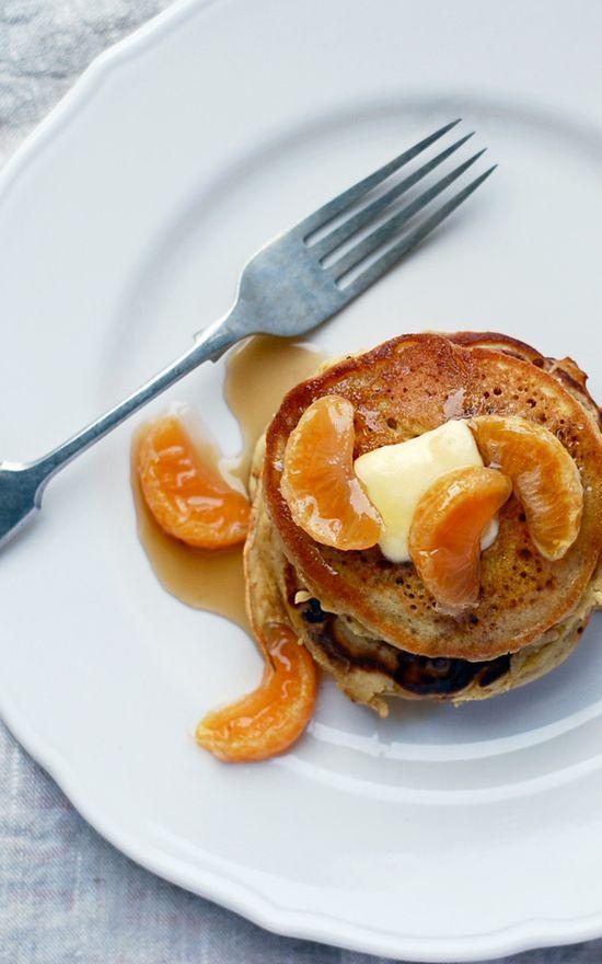 Buckwheat Orange Pancakes