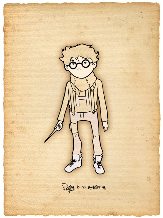 Hipster Harry Potter!