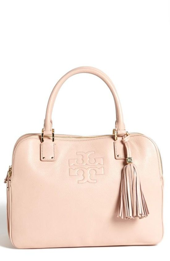 Obsessed with this Tory Burch satchel.