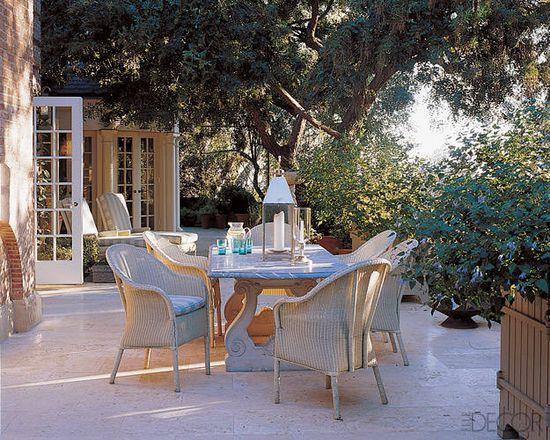 MICHAEL S. SMITH'S HOME - patio