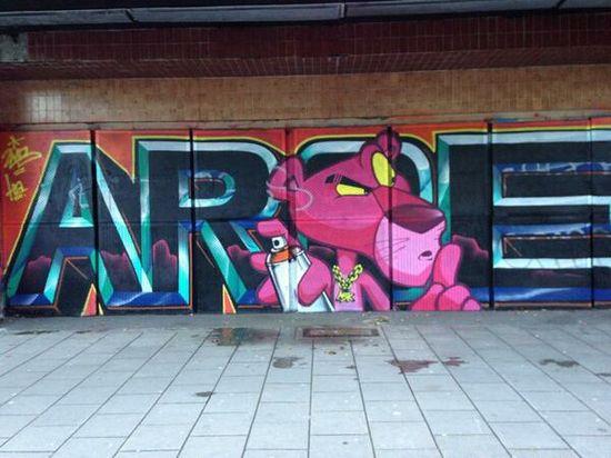 Street art Brighton style via @Iki_7