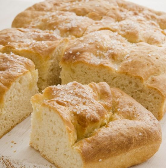 Focaccia. Easy to make, delicious to eat. #dinner #bread www.ivillage.com/...