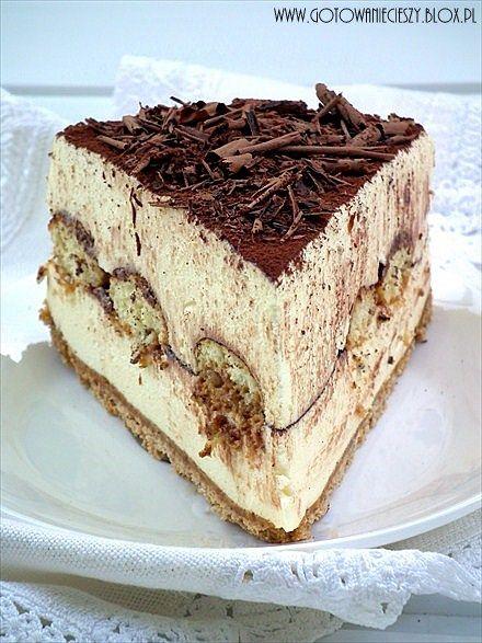 Tiramisu cheesecake !!