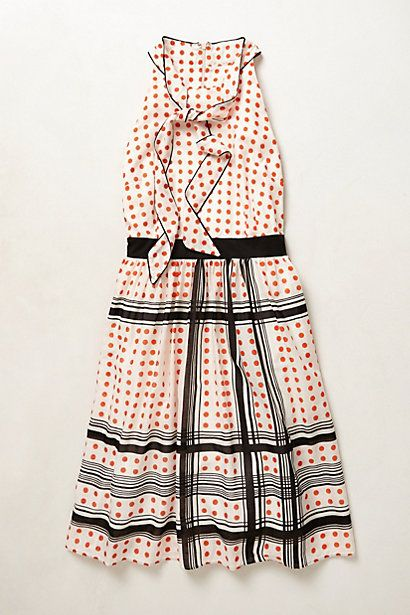 Archival Collection: Dotted Dress #anthropologie
