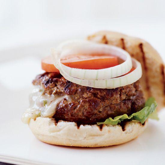 30-Minute Burgers on Food & Wine