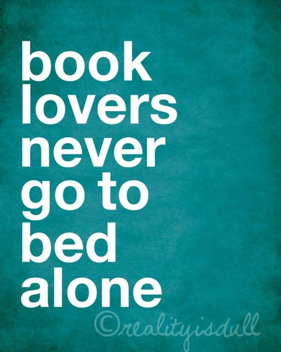 Never sleep alone!