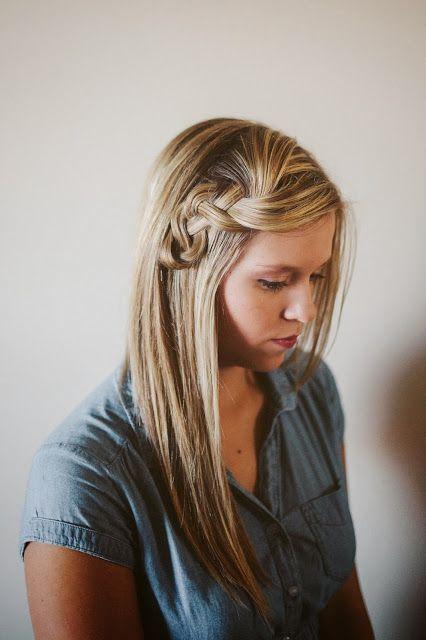Scrunched Braid Hair Tutorial