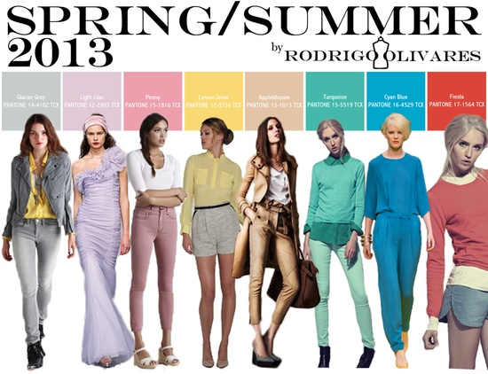 Spring Summer 2013 Color Report Women