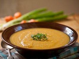 Pumpkin Soup : Recipes : Cooking Channel