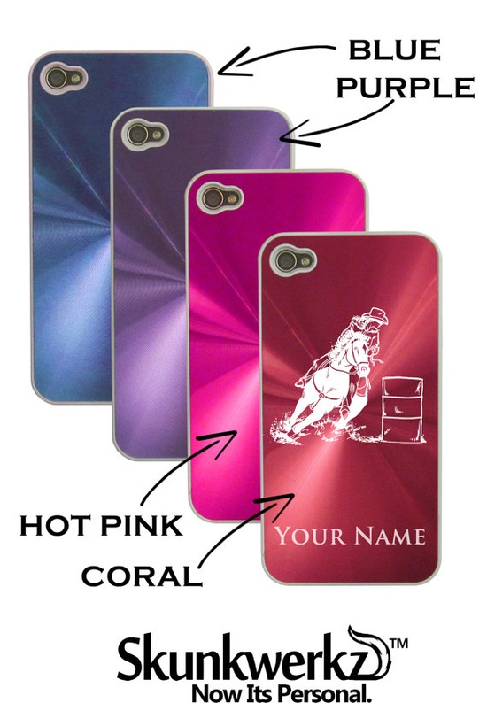 Personalized Aluminum/Metal iPhone 4 4G 4S by CustomEtch on Etsy, $17.95