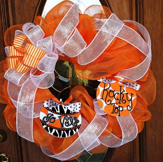 TN Vols Wreath $65