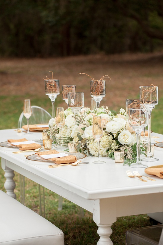 Gold Wedding Inspiration | Table Setting