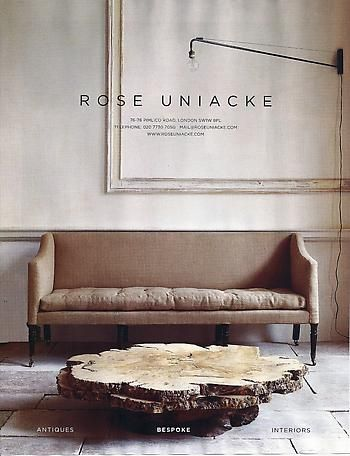 Rose Uniacke - World of interiors