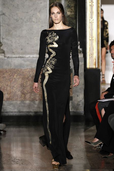 "Emilio Pucci SS2013 and the dress inspired by Vietnamese ""Ao dai"""