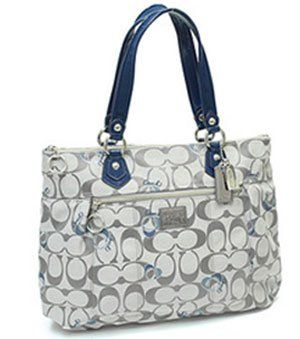 Authentic Coach Poppy Signature Glamour Tote « Clothing Impulse