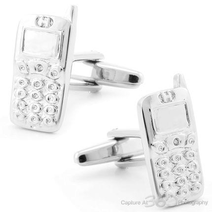Smart Phone New Cufflinks, Black Friday Sale from Cufflinksman