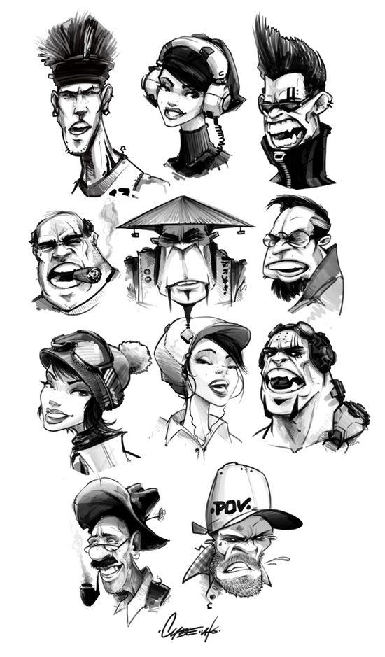 Character Drafts