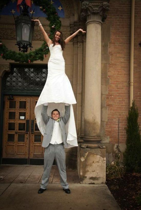 More Bizarre Wedding Photos