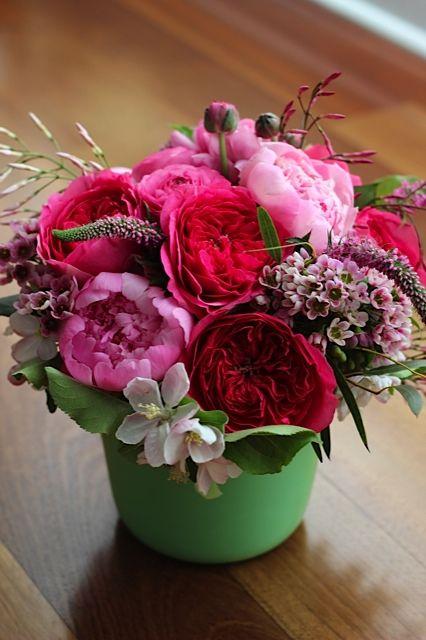 Pink Spring Flower Arrangement