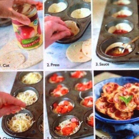 Peyton Halliday's Vine. Making tiny pizza.... Things #pizzathings #yummy #food #... - Seenive