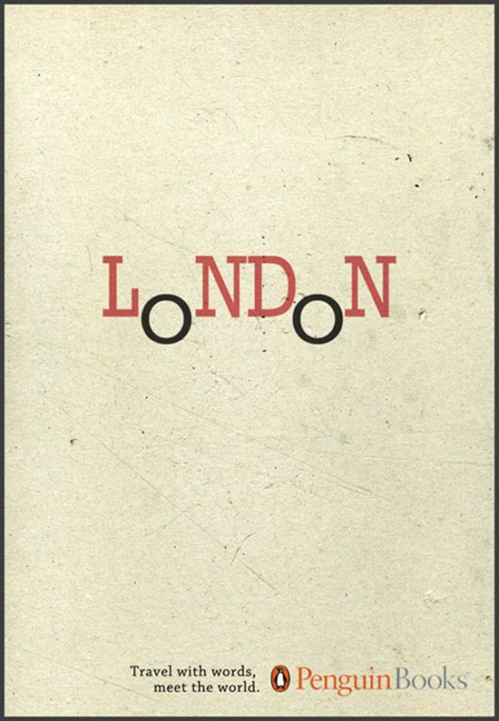Penguin book cover for London. Simple and clever. #penguin #read