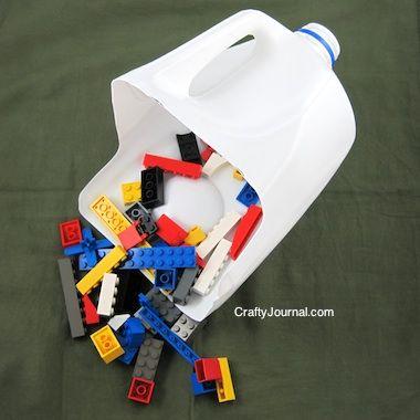 DIY Milk Jug ToyScoop