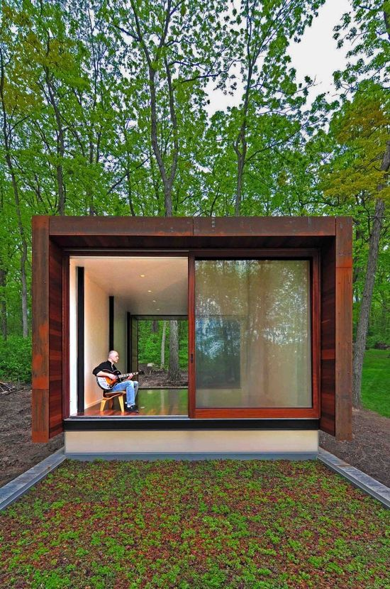 Studio for a Composer / Johnsen Schmaling Architects #architecture