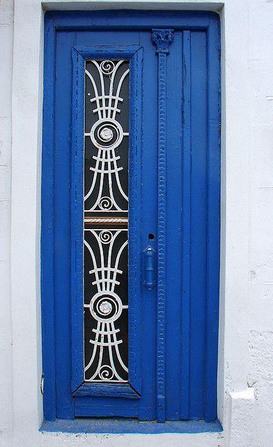 Blue door, Portugal