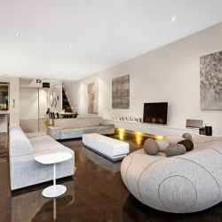 A beautiful contemporary townhouse is the ultimate luxury home in Australia.
