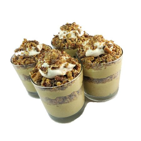 Irish Cream Pudding Parfait