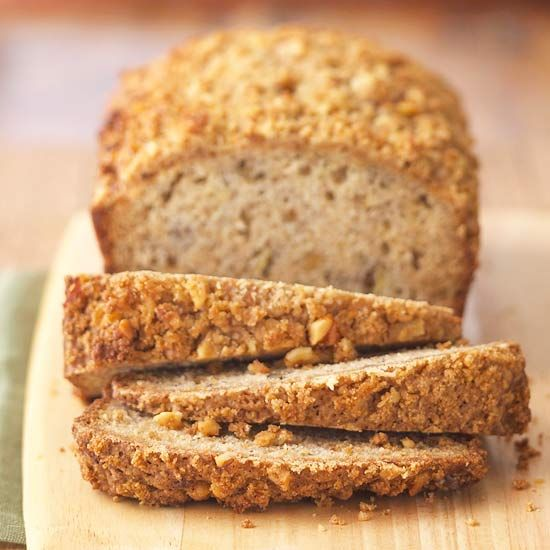 Banana Bread with Streusel Topping! More delicious banana bread recipes: www.bhg.com/...