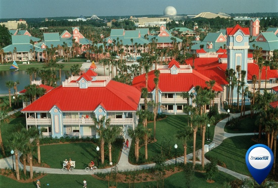 Caribbean Beach Resort at WDW.