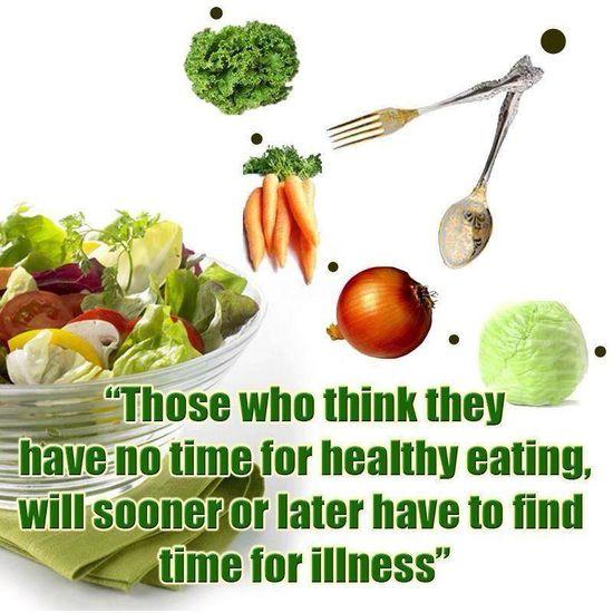 healthy eating spiritually and physically