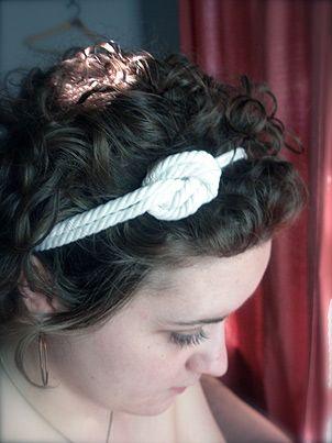 diy rope headband