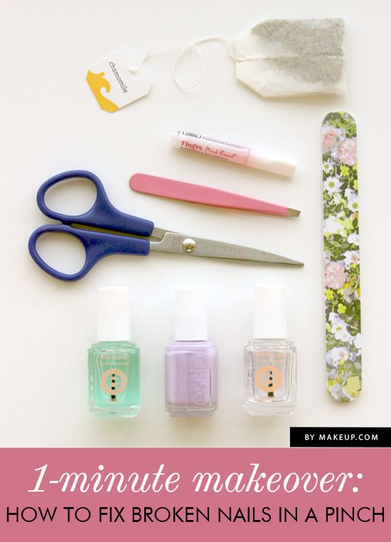 How to fix a broken nail {this is brilliant!}