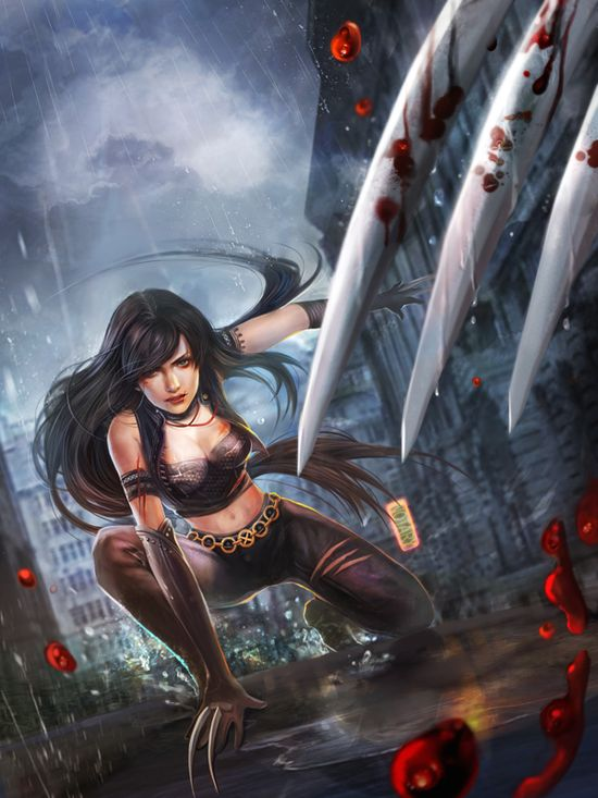 X-23 fan art by ~jiuge on deviantART