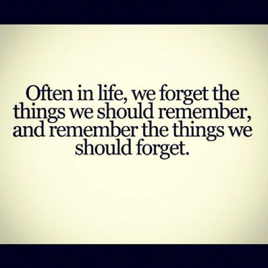 Often in life...