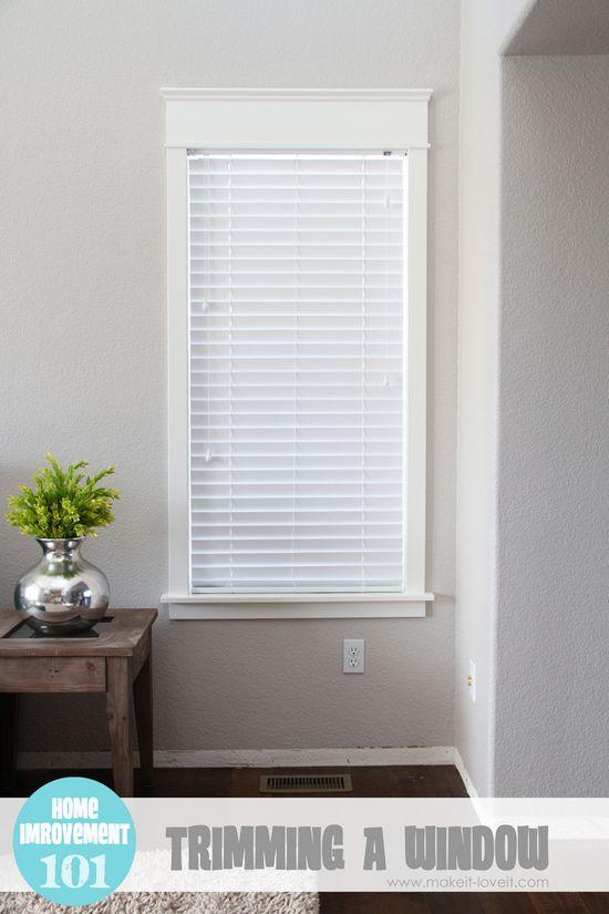 add trim to a plain window - Make It Love It