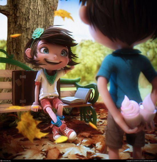 CGTalk - Frozen Frame, Guillermo Soria (3D)