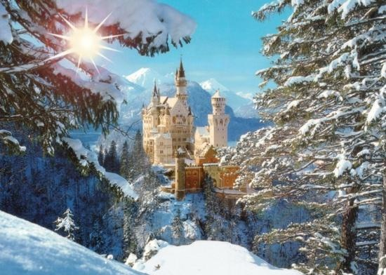 Neuschwanstein Castle, Germany - The 100 Most Beautiful and Breathtaking Places in the World in Pictures (part 1)
