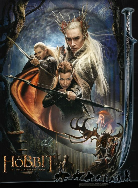 New The Hobbit: The Desolation of Smaug Movie Poster