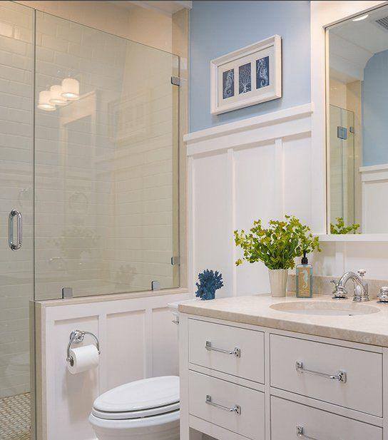 Shower... small bathroom renovation